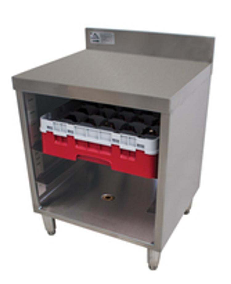 Advance Tabco Underbar Glass Rack Storage Unit