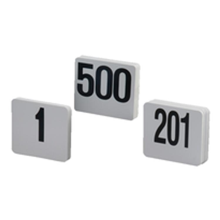 American Metalcraft Table Numbers