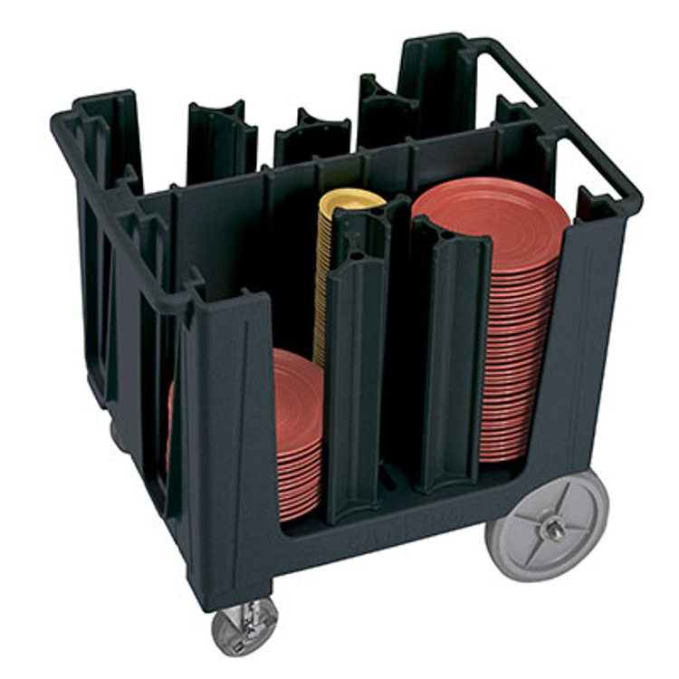 Cambro Black Dish Carts and Glass Rack Dollies