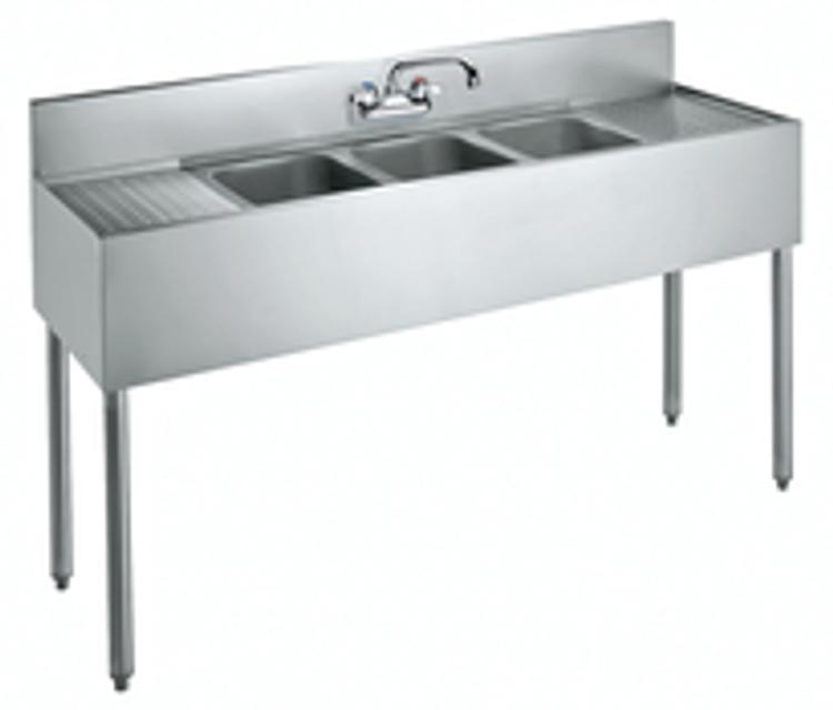 Krowne 3 Compartment Sink