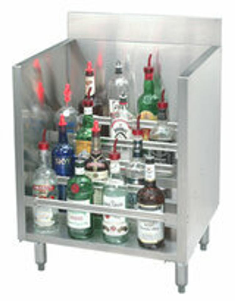 Advance Tabco Underbar Liquor Display