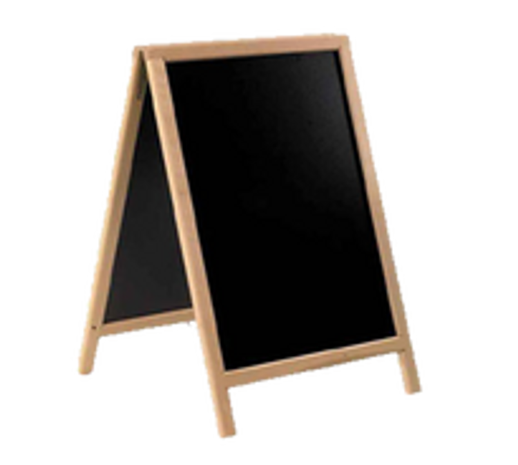 American Metalcraft A-Frame Sign Boards