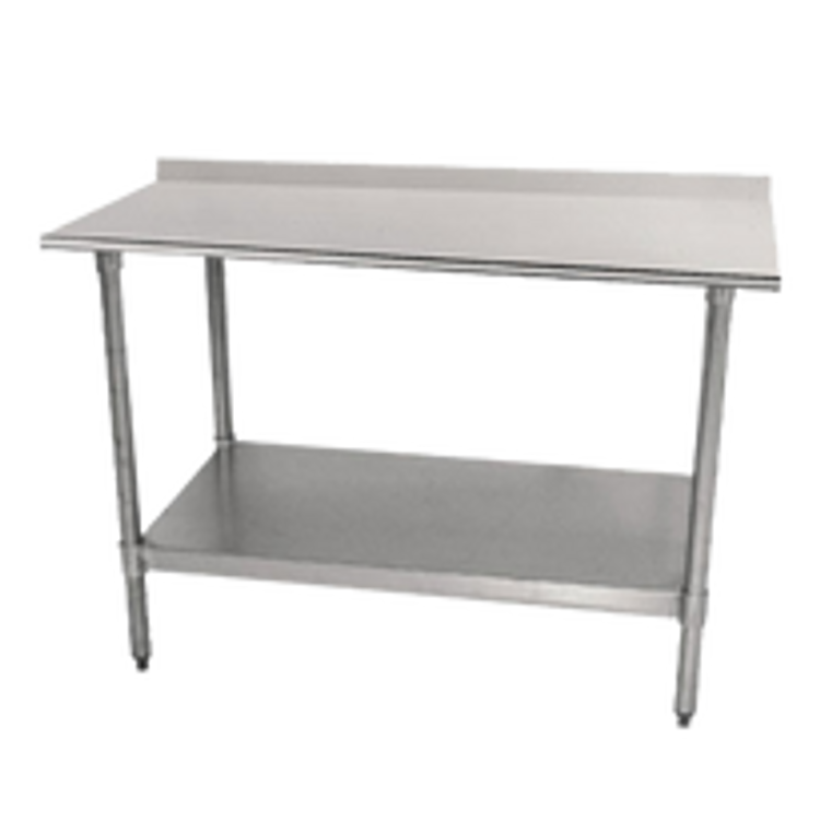 Advance Tabco Stainless Steel Open Base Work Table