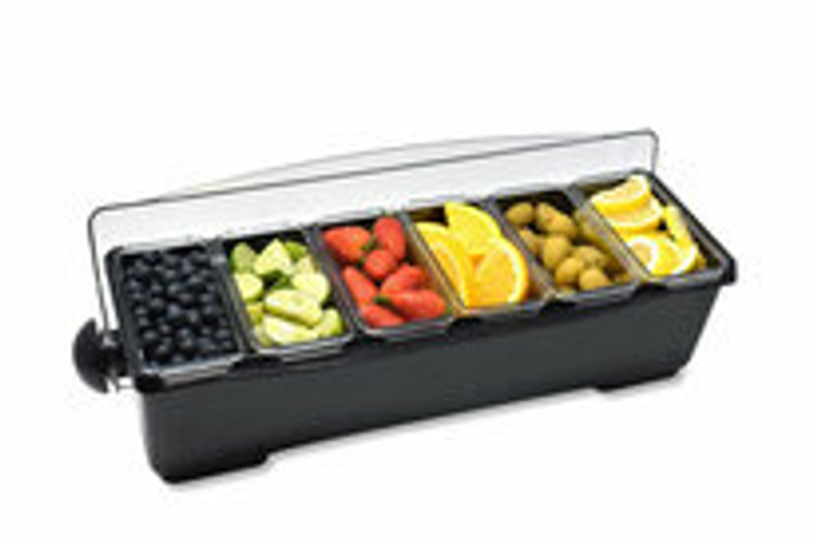 Krowne Refrigerated Countertop Condiment Holders