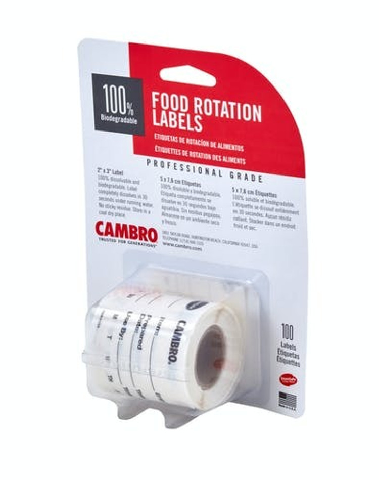Cambro Food Labeling Stickers