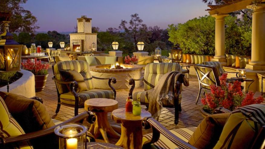outside dining comfort
