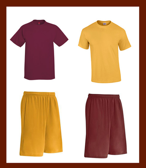 Men's 2 T-Shirt & 2 Shorts Pack