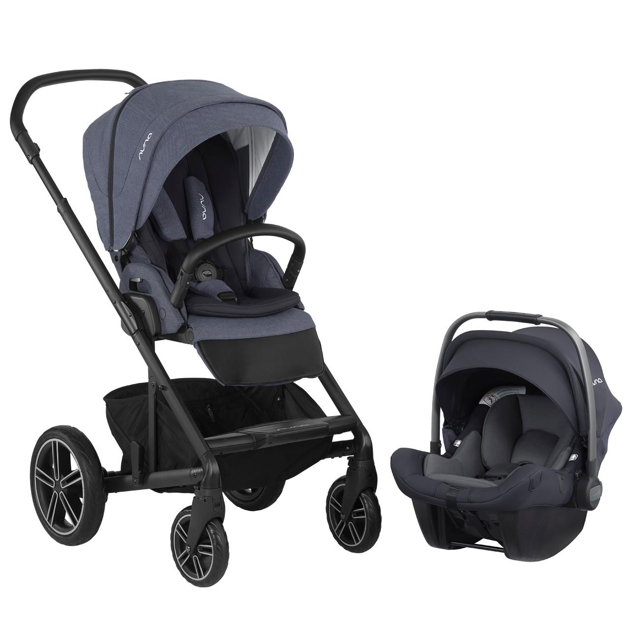 Nuna MIXX 2019 Stroller Travel System w/ PIPA Car Seat