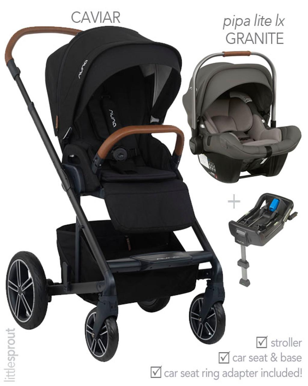2020/2019 Nuna® MIXX™ Stroller + PIPA™ Car Seat Travel ...