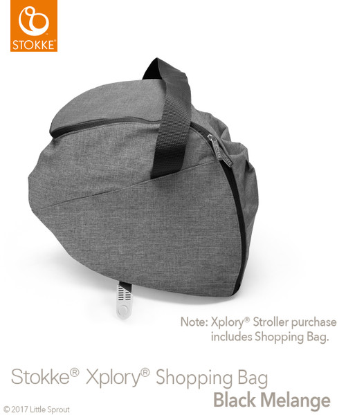 Stokke® Xplory® Shopping Bag with Rain Cover & Mosquito ...