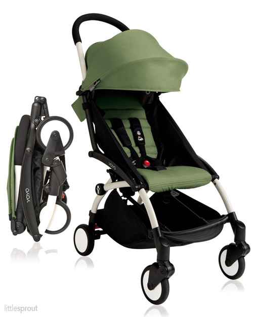 Babyzen Yoyo Complete Stroller With Rain Cover Carry Bag