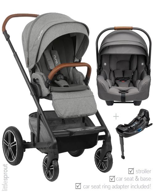 2020 2019 Nuna Mixx Stroller Pipa Car Seat Travel System
