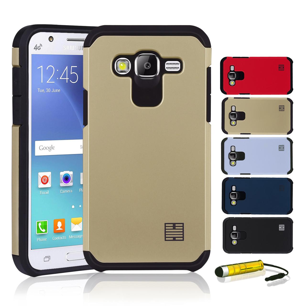 buy popular a49ed df9b0 Samsung Galaxy J5 (2015) Slim Armour Shockproof Case