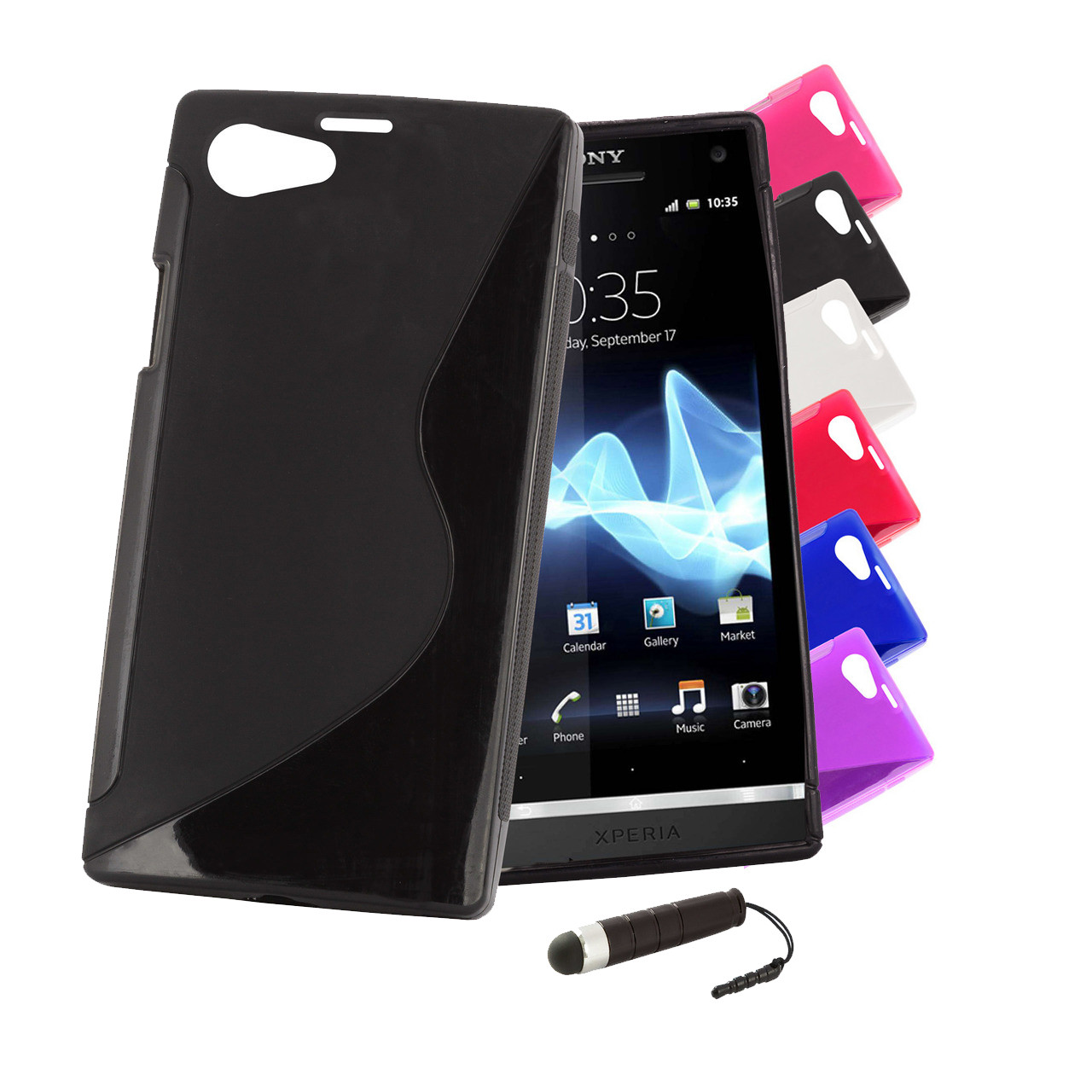 separation shoes 969ee 812fc Sony Xperia Z1 Compact S-Line Gel Case