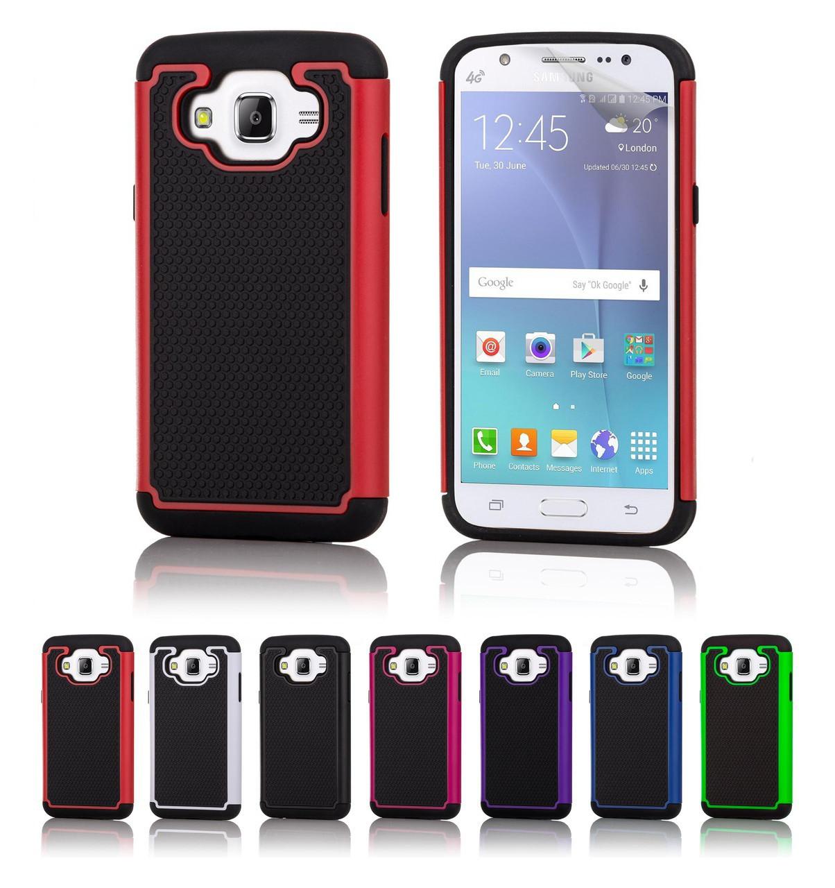 free shipping 63c95 519e4 Samsung Galaxy J5 (2016) Dual-Layer Shockproof Case