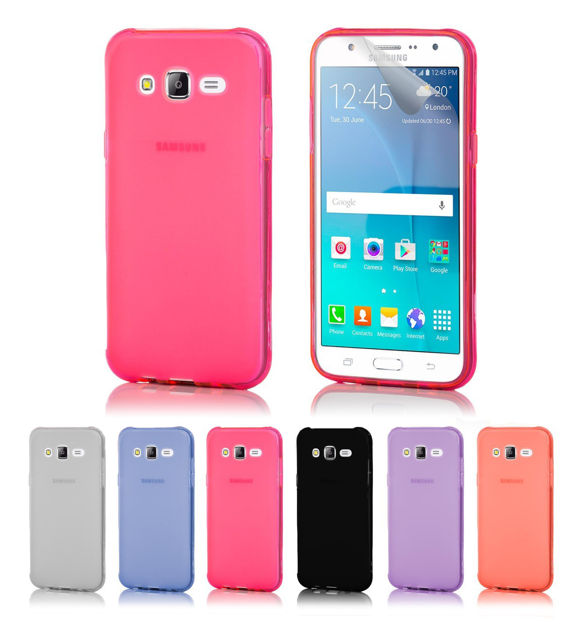 quality design 2f1e6 8e4e8 Samsung Galaxy J5 (2016) Crystal Gel Case