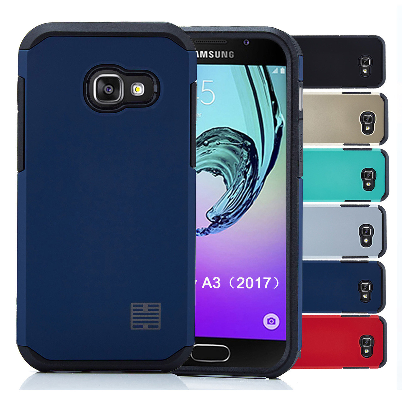 check out 25245 8734b Samsung Galaxy A3 (2017) Slim Armour Shockproof Case