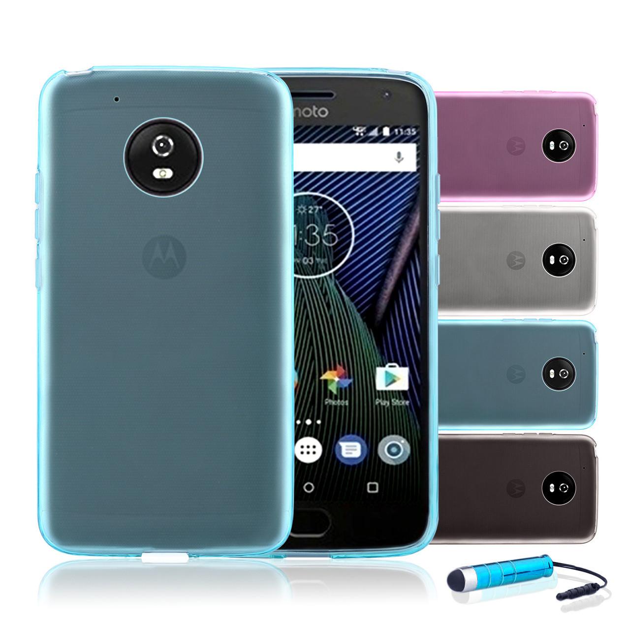 best website 2d911 eed45 Motorola Moto G5 Plus Clear Gel Case