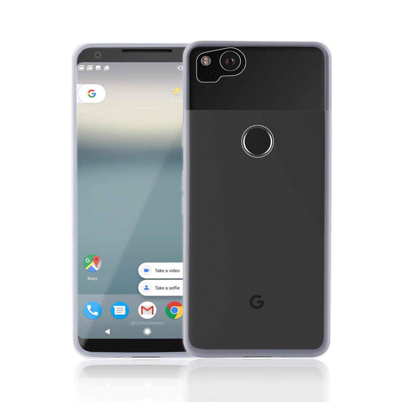 best loved cb59d e301d Google Pixel 2 Clear Gel Case - Clear