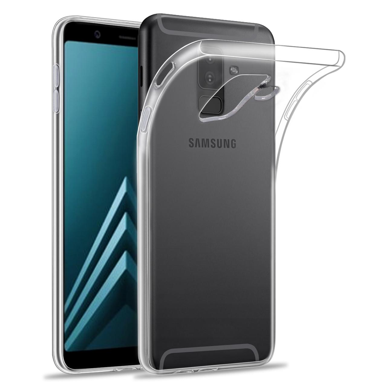 los angeles 50ac2 5d4c4 Samsung Galaxy A6 (2018) Clear Gel Case - Clear - 32ndShop