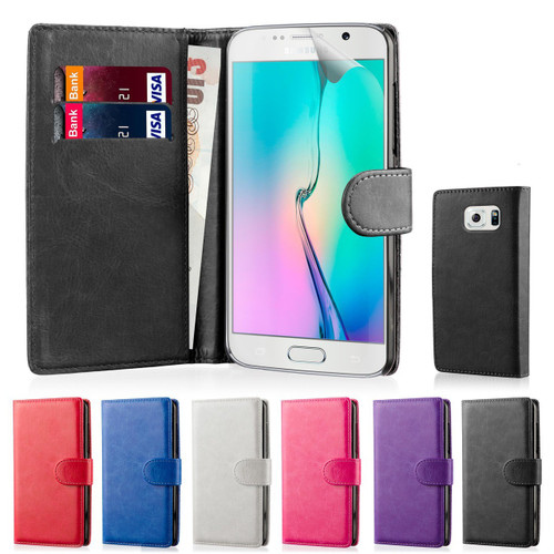 32nd synthetic leather book wallet Samsung Galaxy S6 Case.
