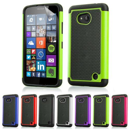 32nd dual-layer shockproof Microsoft Lumia 640 Case in a range of colours.