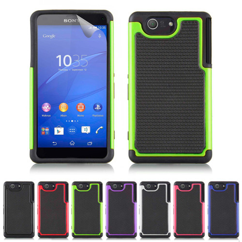 32nd dual-layer shockproof Sony Xperia Z3 Compact Case in a range of colours.