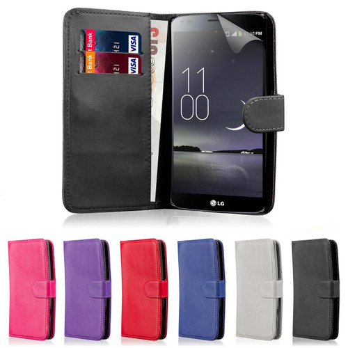 32nd synthetic leather book wallet LG G Flex 2 Case in a range of colours.