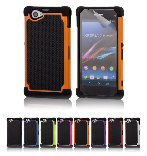 32nd dual-layer shockproof Sony Xperia Z1 Compact Case in a range of fantastic colours.