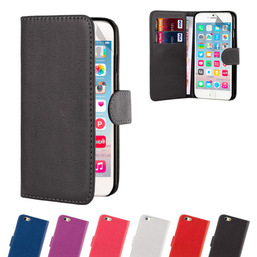 32nd synthetic leather book wallet Apple iPhone 6 Plus 5.5 inch Case.