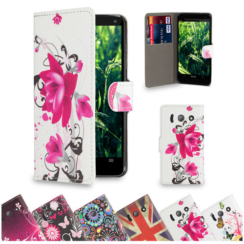 32nd stylish faux leather design book wallet Huawei Ascend Y550 Case.