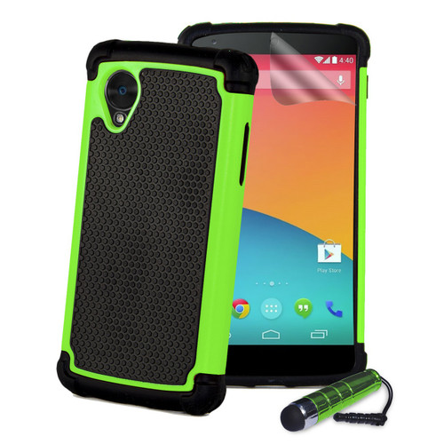 32nd dual-layer shockproof Google Nexus 5 Case in a range of colours.