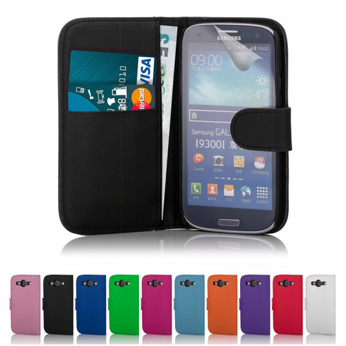 32nd synthetic leather book wallet Samsung Galaxy S3 Case in a range of stylish colours.