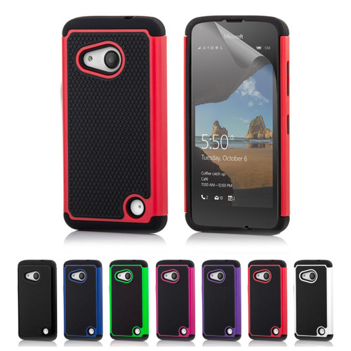 32nd dual-layer shockproof Microsoft Lumia 550 Case in a range of fantastic colours.