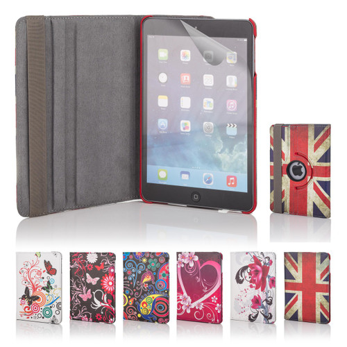 32nd 360 Degree design book stand Apple iPad Mini 4 Case.