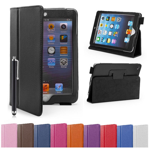 Apple iPad Mini PU Leather Book Stand Case