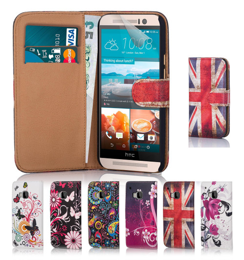 32nd colourful synthetic leather design book wallet HTC 10 Case.