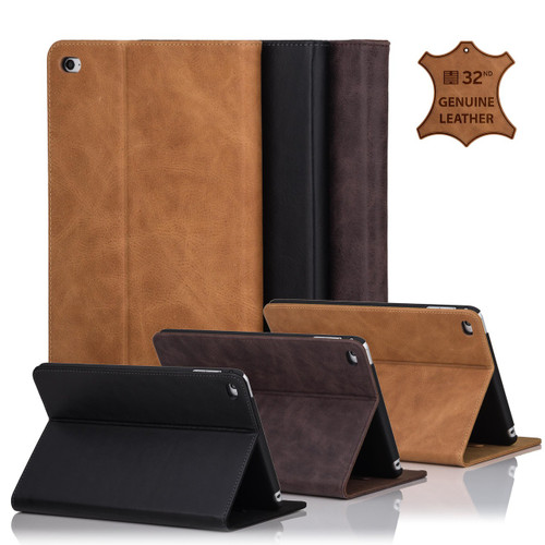 32nd premium leather book wallet Apple iPad 2 / 3 / 4 Case.