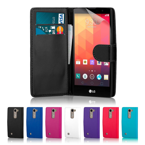 32nd faux leather book wallet LG Spirit (2015) Case in a range of fantastic colours.