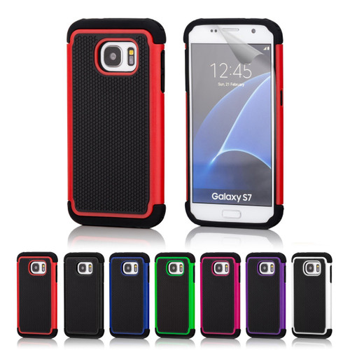 32nd dual-layer shockproof Samsung Galaxy S7 Case in a range of stylish colours.