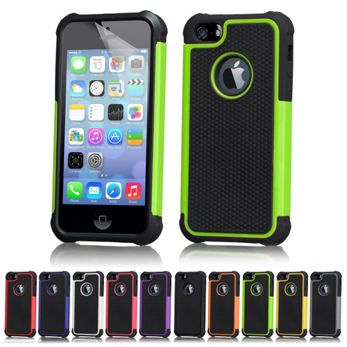 32nd dual-layer shockproof Apple iPhone SE Case in a range of stylish colours.