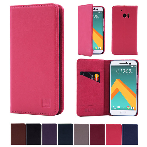 32nd real leather classic wallet HTC 10 Case in a range of fantastic colours.