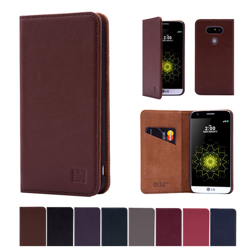 32nd real leather classic wallet LG G5 Case in a range of fantastic colours.