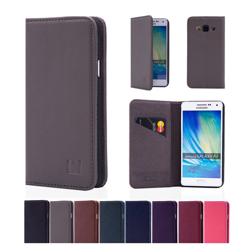 32nd real leather classic wallet Samsung Galaxy A5 (2015) Case in a range of fantastic colours.