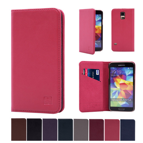 32nd real leather classic wallet Samsung Galaxy S5 Case in a range of great colours.