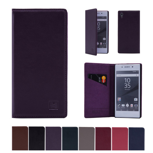 32nd real leather classic wallet Sony Xperia Z5 Case in a range of colours.