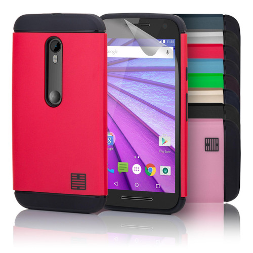 32nd slim shockproof Motorola Moto G3 Case.