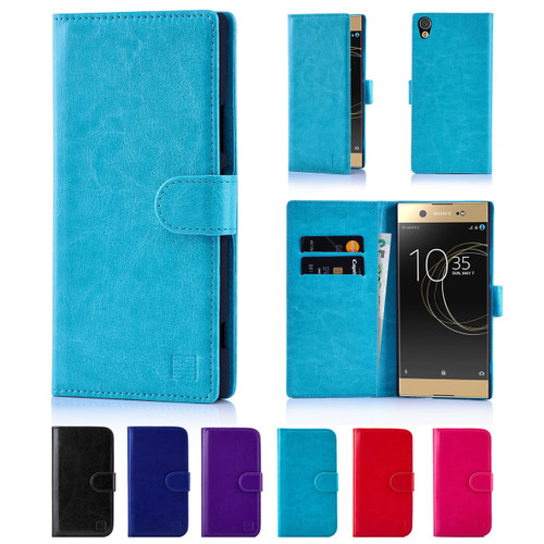 32nd synthetic leather book wallet Sony Xperia XA Ultra Case in a range of great colours.
