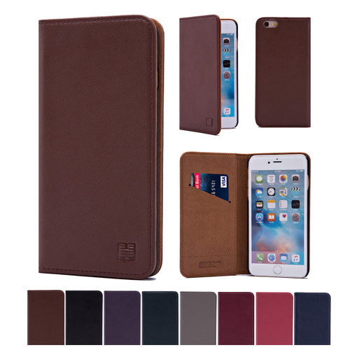 32nd real leather classic wallet Apple iPhone 6 Plus 5.5 inch Case in a range of colours.