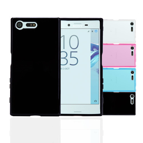 32nd clear gel Sony Xperia X Compact Case in a selection of colours.